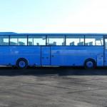 fot. 4 Polerowanie autobusu. BOVA przed polerowaniem