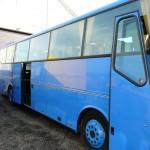 fot. 5 Polerowanie autobusu. BOVA przed polerowaniem